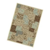 Concord Chester Patchwork Rug - Beige