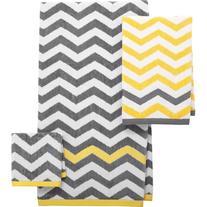 Mainstays Chevron Decorative Bath Towel Collection