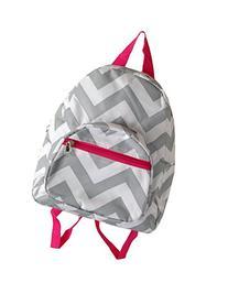 "11.5"" Chevron Print Mini School Travel Backpack"