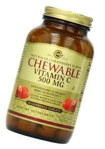 Chewable Vitamin C 500mg  90 Tab 2-Pack