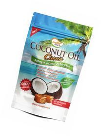 Healthy Delights Chews, Coconut Oil, 30 Count