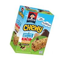 Quaker Chewy Granola Bars, 30 ct. Peanut Butter and 30 ct.
