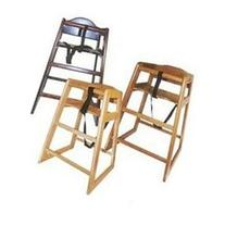 Winco CHH-101 Natural Wood Hi-Chair