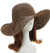 Eforstore Hats Chic Ladies Straw Sun Visor Wide Large Brim