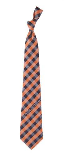 Chicago Bears Check Poly Necktie