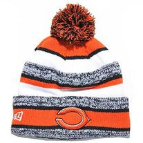 New Era On field Sport Knit Chicago Bears Game Hat Orange/