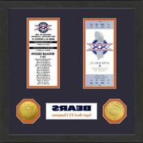 NFL Chicago Bears SB Championship Ticket Collection