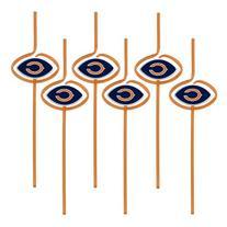 Chicago Bears Team Sipper Straws