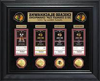 Chicago Blackhawks 2015 Stanley Cup Champions Deluxe Gold