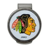 NHL Chicago Blackhawks Clamshell Hat Clip with 2 Markers