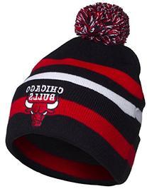 NBA Chicago Bulls Cuff Pom Pom Beanie Knit Hat Cap