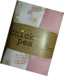 Chick Pea Little Girl Safari Swaddle Blanket Pack of Two