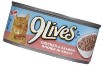 9Lives Chicken & Salmon Dinner - 24 x 5.5 oz