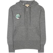 Burberry Chienti Wool and Cashmere Knitted Hoodie