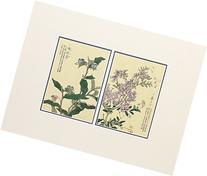 Chigusa No Hana , antique print handmade in Japan