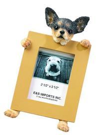 Chihuahua Black 2.5'' x 3.5'' Photo Frame