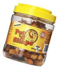 Pet 'N Shape Chik 'N Sweet Potato Natural Dog Treats, 16-