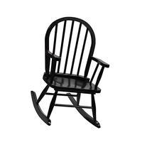 Children's Windsor Rocking Chair in Espresso Color