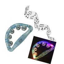 Aoneky Childrens Musical 4 LED Light Rattle, Hot Flashing