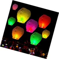 10pcs Chinese Sky Fly Fire Lanterns Wish Party Wedding