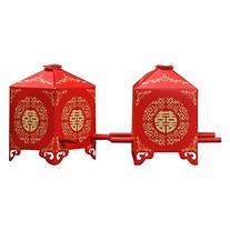 Zcargel Hot Sale Chinese Traditional Red Bridal Sedan Chair