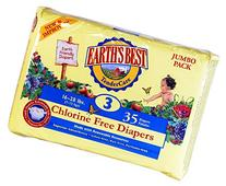 Chlorine Free Earth Friendly Disposable Diapers Size: Size 3