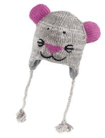 Nirvanna Designs CHMOUSE Mouse Hat with Fleece, Grey,