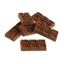 Set Of 36 Chocolate Theme Scented Erasers