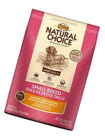 NUTRO NATURAL CHOICE Small Breed Adult Chicken, Whole Brown