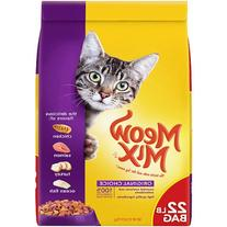 Meow Mix Original Choice Dry Cat Food, 22-Pound
