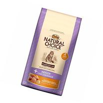 NATURAL CHOICE INDOOR Senior Cat Chicken and Whole Brown