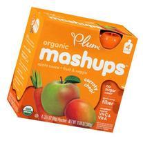 Plum Organics Carroty Chop! Organic Apple Sauce & Fruit &