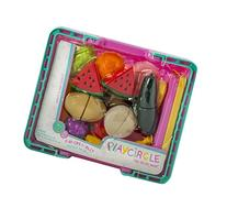 Play Circle Chop and Slice Fruit Basket – Teaches and
