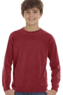 Comfort Colors Drop Ship Youth 5.4 oz. Garment-Dyed Long-