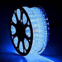 MegaBrand Christmas Lighting LED Rope Light 150ft Blue w/