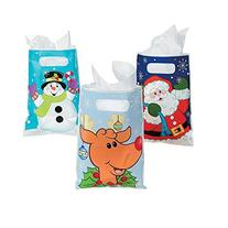 "Christmas Party Favor 9"" Bags  - Christmas Party Supplies"