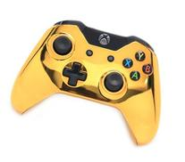 Chrome Gold Xbox One Rapid Fire Modded Controller 40 Mods