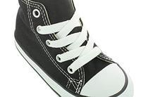 Converse Unisex Baby Infant Chuck Taylor Allstar Hi Black -
