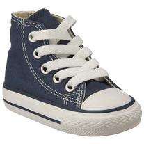 Converse Chuck Taylor All Star Hi Shoe - Kids' Navy, 13.0