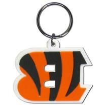 Cincinnati Bengals Laser Cut Rubber Keychain