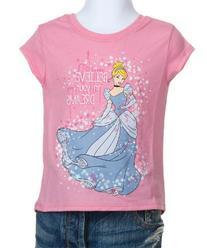 Girls Cinderella Believe In Your Dreams T-Shirt
