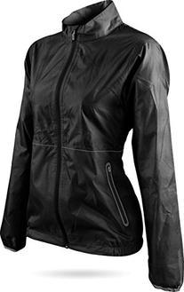 Sun Mountain Golf- Ladies Cirrus Jacket Black Size Medium