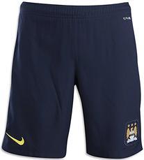 2013-14 Man City Away Nike Football Shorts