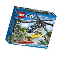 LEGO CITY Helicopter Pursuit Police Helicopter & Speedboat