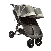 Baby Jogger City Mini GT Double Stroller, Steel Gray