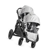 Baby Jogger City Select Stroller with 2nd Seat, Silver