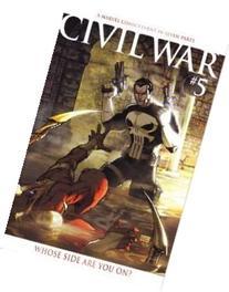 CIVIL WAR #5 COLOR VARIANT