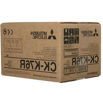 "Mitsubishi CK-K76R 6"" Paper & Ink Set for CP-K60DW-"