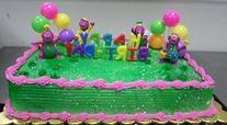 CakeSupplyShop CKB6Y -Barney Birthday Cake Decoration Party