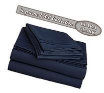 Clara Clark Supreme 1500 Collection 4pc Bed Sheet Set -